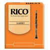 Bb Clarinet Reeds Strength 1.5 Rico Standard Orange 10 Pack