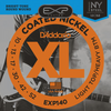 D'Addario EXP140 Coated Electric Guitar Strings 10 - 52