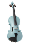 Stentor Harlequin Violin Size 4/4 Light Blue 1401ALBU