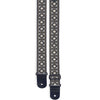 Stagg Guitar Strap Nylon Flower Pattern White SWO-FLO WHT