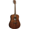 LAG T98D Dreadnought Natural Solid Khaya Acoustic Guitar