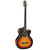 Takamine GB72CE Flame Maple Sunburst Electro Acoustic Bass