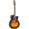 Takamine GD72CE Flame Maple Jumbo Cutaway Sunburst 12 String Electro Acoustic Guitar