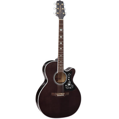 Takamine GN75CE Maple NEX Cutaway Trans Black Electro Acoustic Guitar