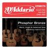 D'Addario Phosphor Bronze Acoustic Bass EPBB170 Long 45 - 100