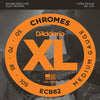 D'Addario XL Chromes Flat Wound Bass Strings ECB82 Long 550 - 105