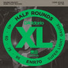 D'Addario XL Half Rounds Bass Strings ENR70 Long 40 - 95