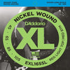 D'Addario XL Nickel Round Wound Bass Strings EXL165SL Super Long 45 - 105