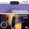 D'Addario EXP13 Acoustic Guitar Strings 11 - 52 Coated 80/20 Bronze