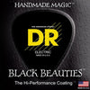 D.R K3 Black Beauties Black Coated Bass Strings 45-105