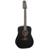 Takamine GD30 12 String Mahogany Dreadnaught Black Acoustic Guitar