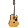 Takamine GD30CE 12 String Mahogany Dreadnaught Cutaway Natural Electro Acoustic Guitar