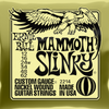Ernie ball Slinky Nickelwound Mammoth Slinky Guitar Strings 12 - 62