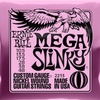 Ernie ball Slinky Nickelwound Mega Slinky Guitar Strings 10.5 - 48