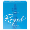 Rico Royal Bb Clarinet Strength 1 Reeds 10 Pack