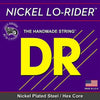 D.R Nickel Lo-Riders Bass Strings 45-105