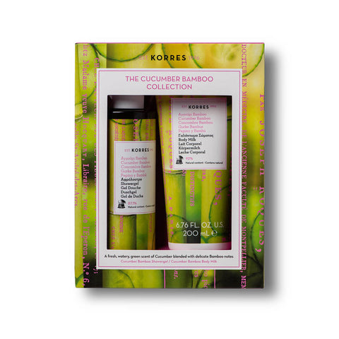 Cucumber Bamboo Moisturizing 2-piece Gift Set