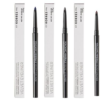 Velvet Mechanical Eyeliner Trio