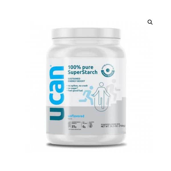 UCAN Plain Unflavored Energy Tub 30 Servings