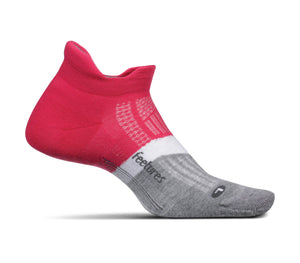 Feetures - Elite Max Cushion No-Show Tab ( Fierce Magenta )