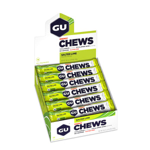 GU Chews - Box of 18 sachets