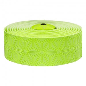 SUPACAZ BAR TAPE SSK CLASSIC NEON YELLOW