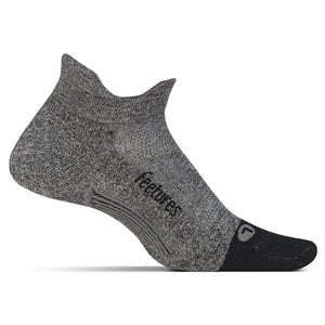 Feetures - Light Cushion No Show Tab ( Gray )