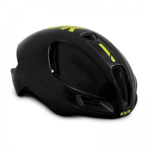 KASK UTOPIA   Black / Yellow Fluo