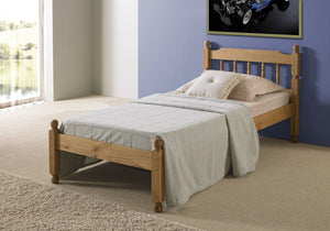 Colonial Spindle Pine Bed Frames