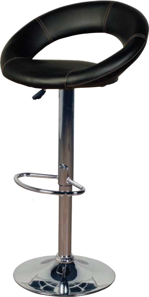 Horizon Bar Stools: Eclipse Black