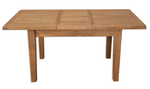 Canberra Oak Extender Table - Rustic Finish