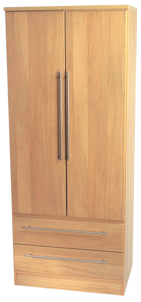 Sherwood Double 2 Drawer Wardrobe