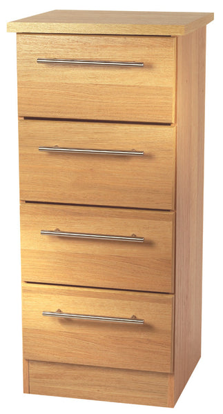 Sherwood 4 Drawer Bedside Cabinet