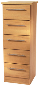 Sherwood 5 Drawer Narrow Chest