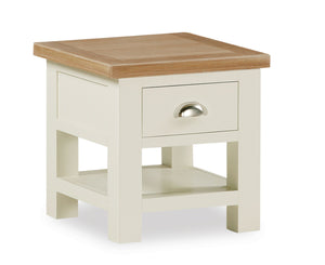 Somerset Lamp Table With Drawer