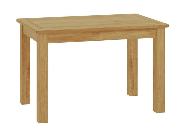 Oregon Oak Fixed Dining Table - Oak