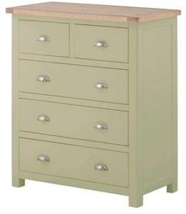 Oregon Oak 2 over 3 Chest - Sage