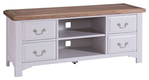 Oxford Grey Painted TV Unit