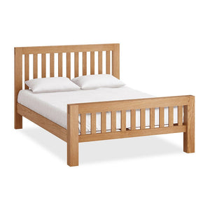 Chunky Oak Bed Frame - KingSize
