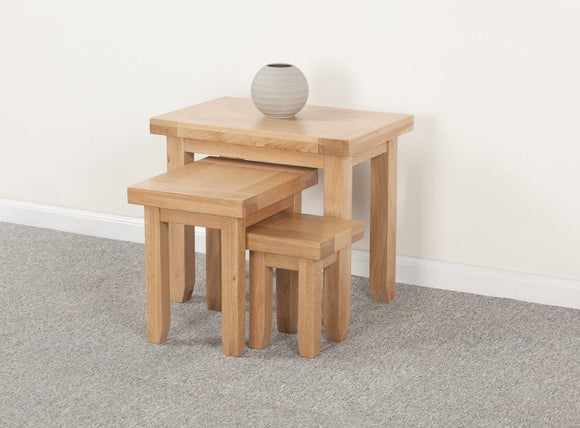 Devonshire Oak Nest of Tables