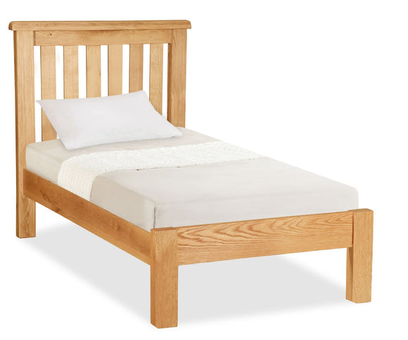 Manor Oak Single Bed