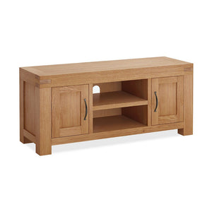 Chunky Oak TV Unit 2 Door