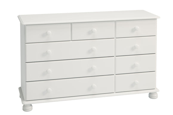 Richmond Bedroom 2+3+4 Chest of Drawers - White
