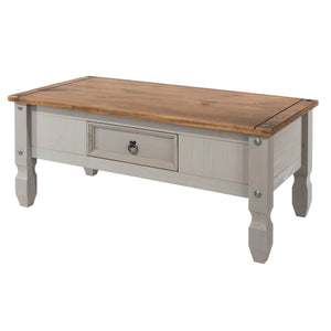 Corona Grey Washed Pine Coffee Table