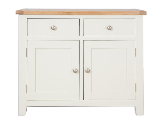 Canberra Painted Double Sideboard - Ivory