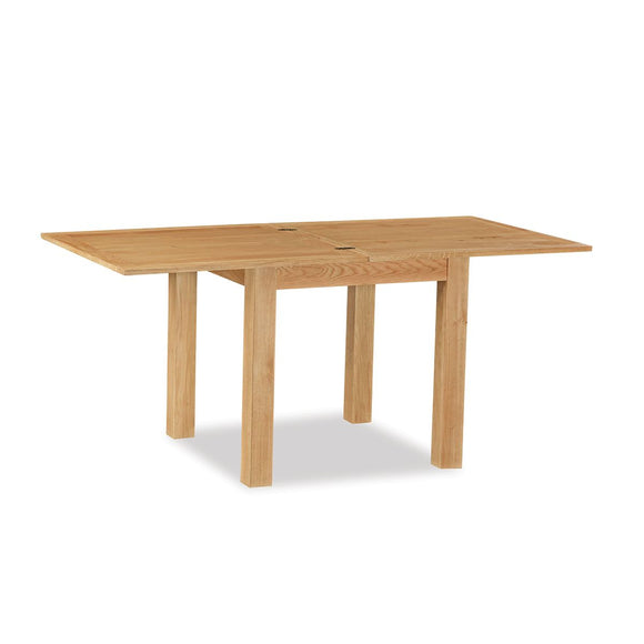 Manor Oak Lite Square Ext Table
