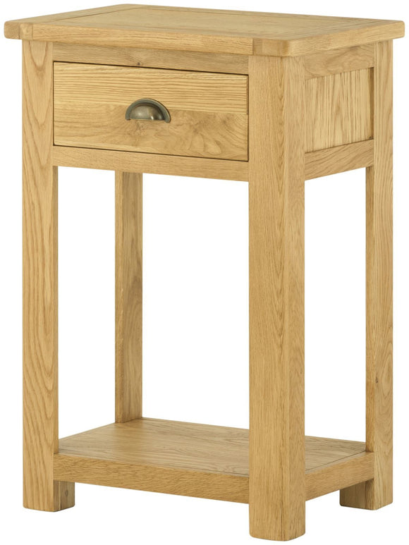 Oregon Oak Small Console Table - Oak