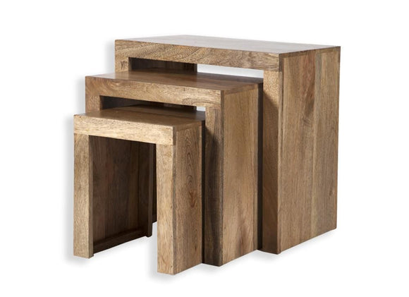 Cube Petite Nest of Tables - Mango