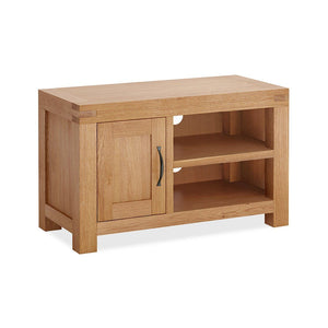 Chunky Oak TV Unit 1 Door