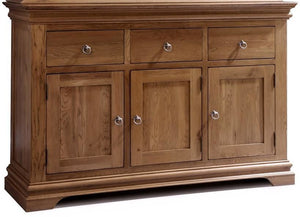 Regency Oak  Triple Sideboard